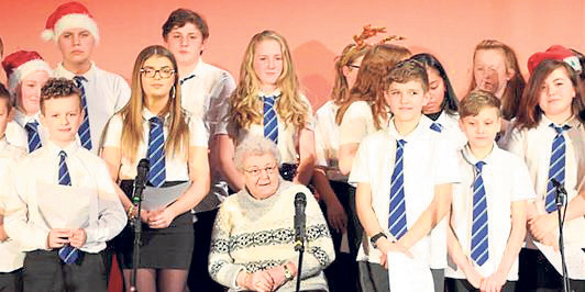 A former Torry Secondary School pupil from the 1940s was invited to the Christmas concert in December.