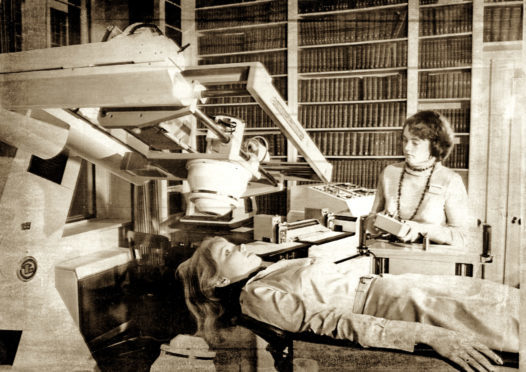 University of Aberdeen scientists designed the first MRI machine