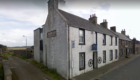 The old Dower Hotel in New Aberdour