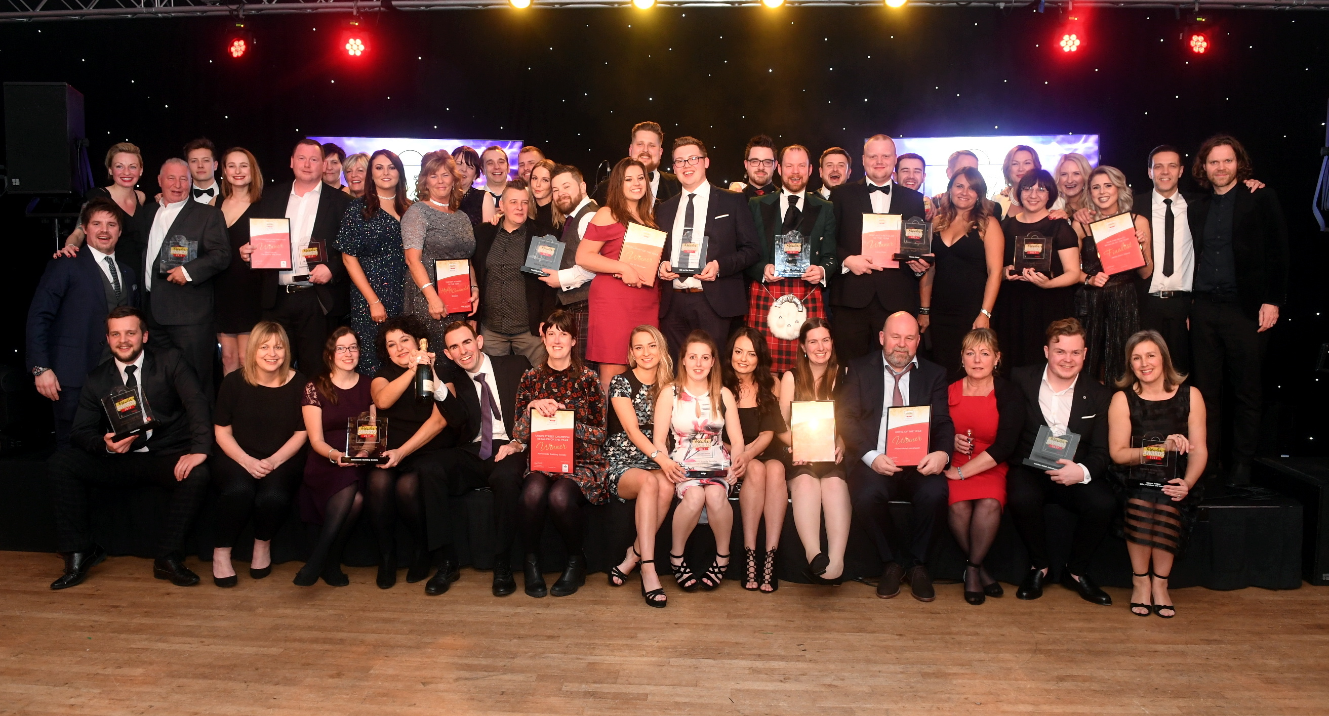 Last year's Evening Express Retailer Award winners