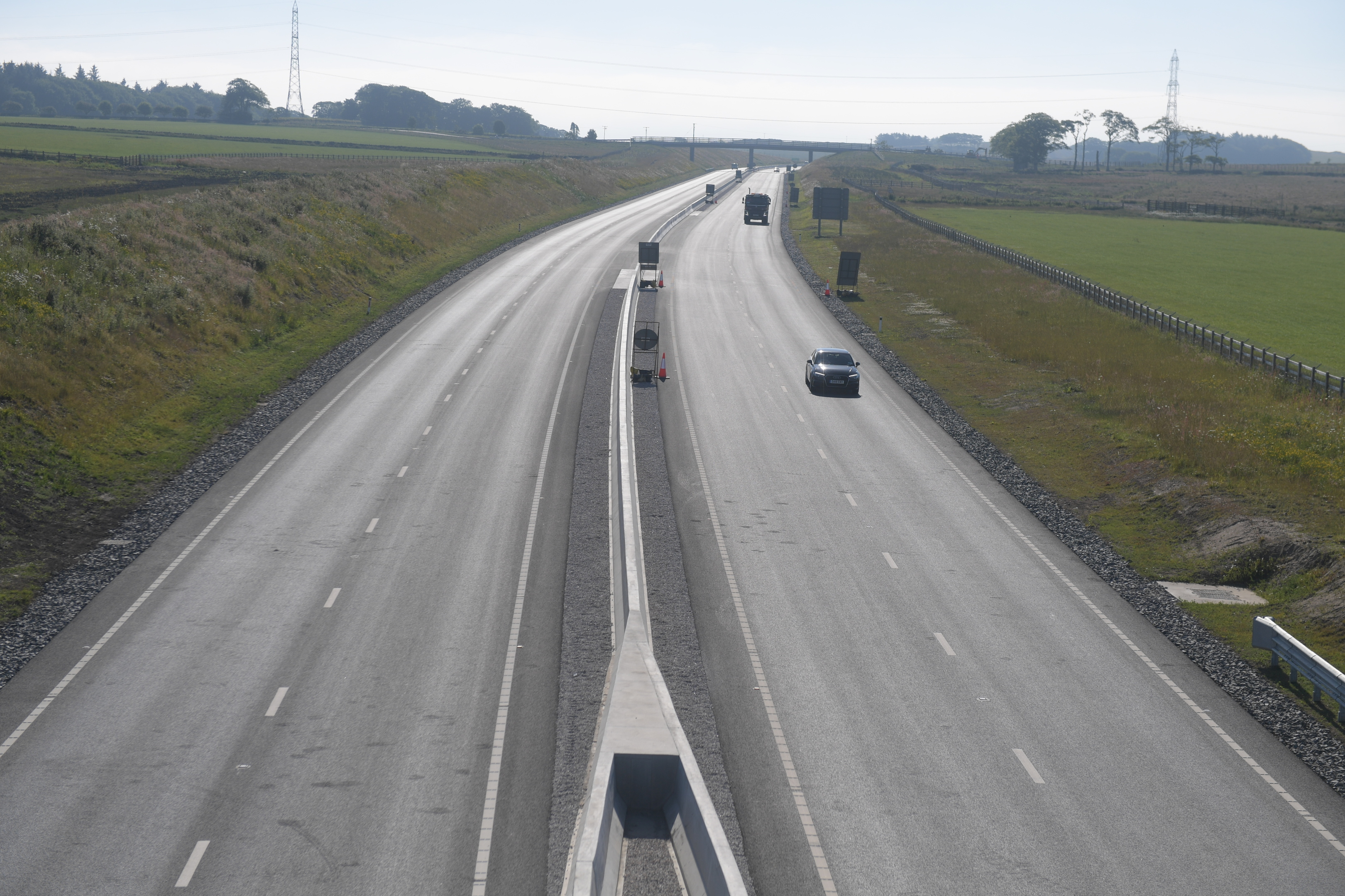 The first stretch of bypass opened last month