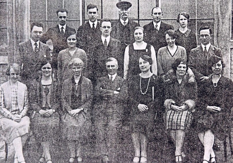 Staff pictured in 1927