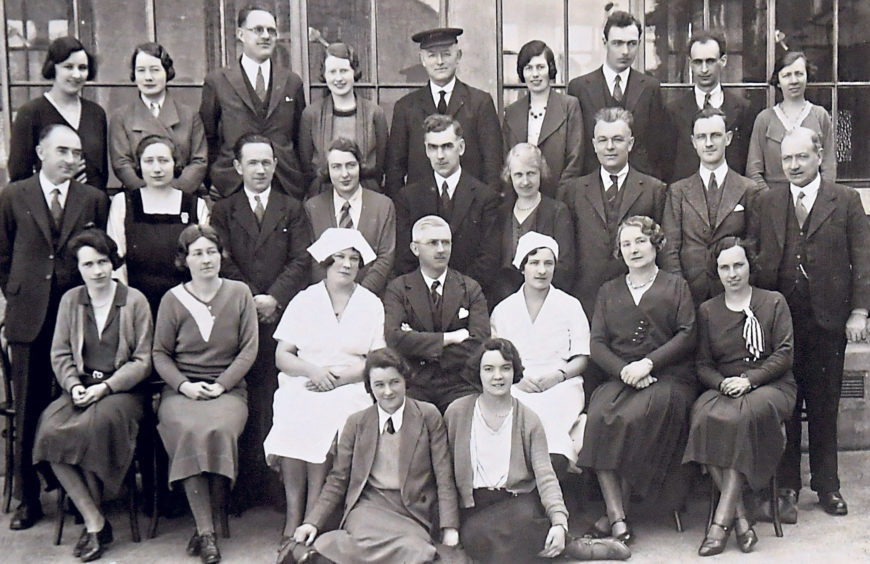 Torry School staff pictured in 1933