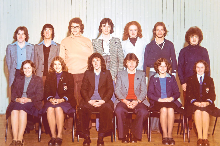 Class photos from a bygone era