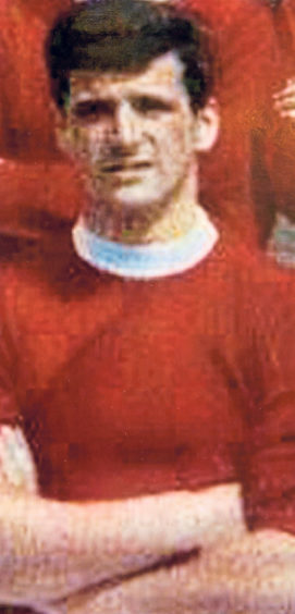 Ernie Winchester joined the Dons from Torry School in 1962