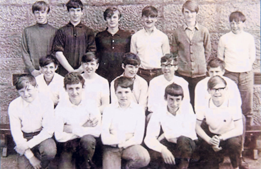 The sun was shining for this picture of Torry School pupils in 1967