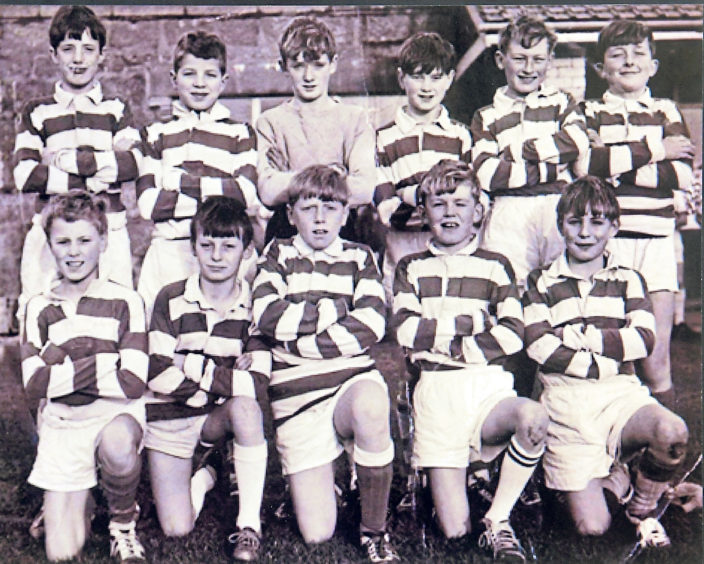 The Torry football team of 1967