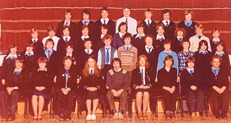 Torry Academy prefects of 1979/80