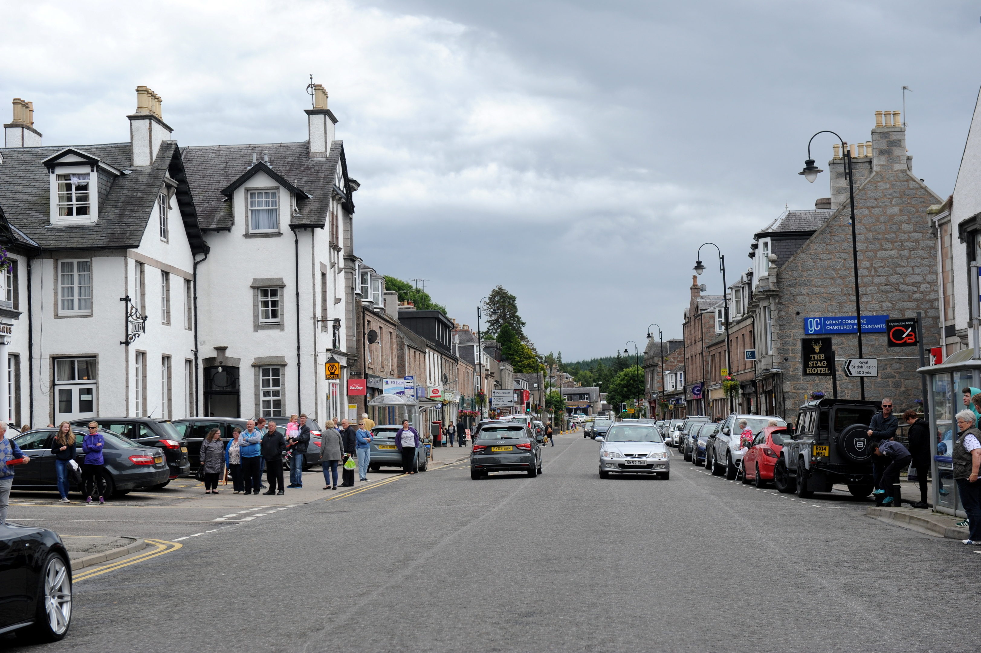 The move could affect residents in Banchory