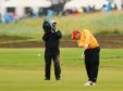 The 17th at Carnoustie last time the Open was held there.