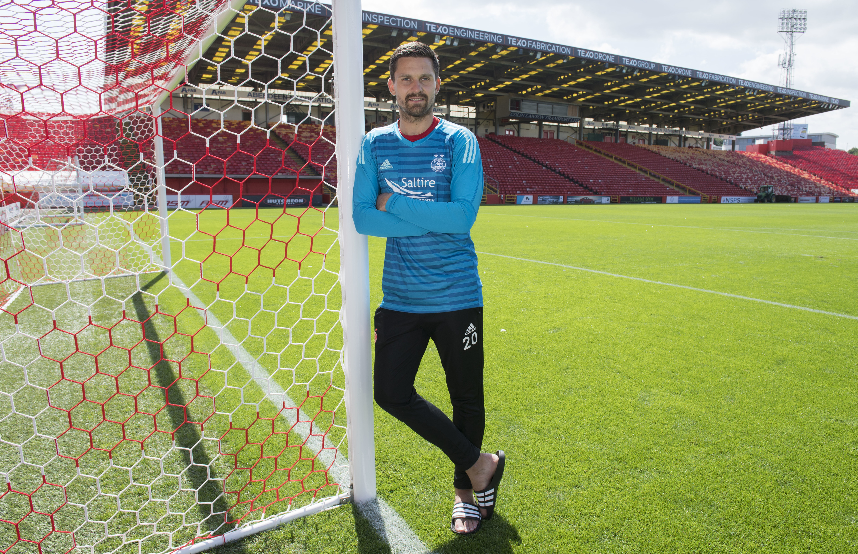 Aberdeen new signing Tomas Cerny