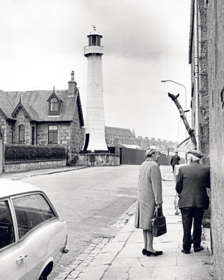 """The """"lighthouse in the street"""" on Sinclair Road"""