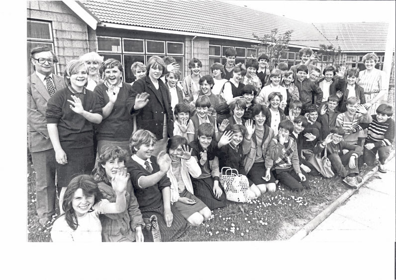 Pupils were off on a trip to Yugoslavia in 1984