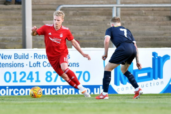 Pictured - Aberdeen's Gary Mackay-Steven.    Picture by Kami Thomson .