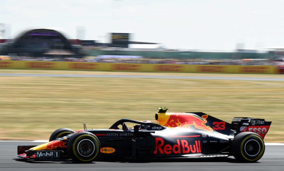 Practice 3 - Red Bull's Max Verstappen. Picture by Darrell Benns