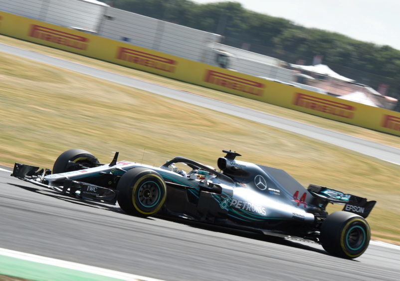 Practice 3 Mercedes' Lewis Hamilton