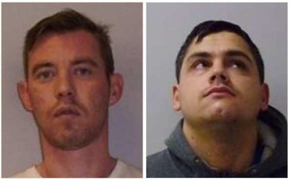 Warren Keating, left, and Darren Summers got five and four years respectively