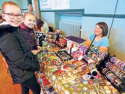 Youngsters enjoy the Christmas fair in November 2017