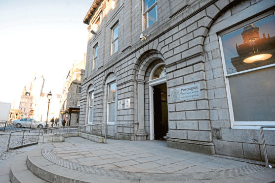 The case is being heard at the High Court in Aberdeen