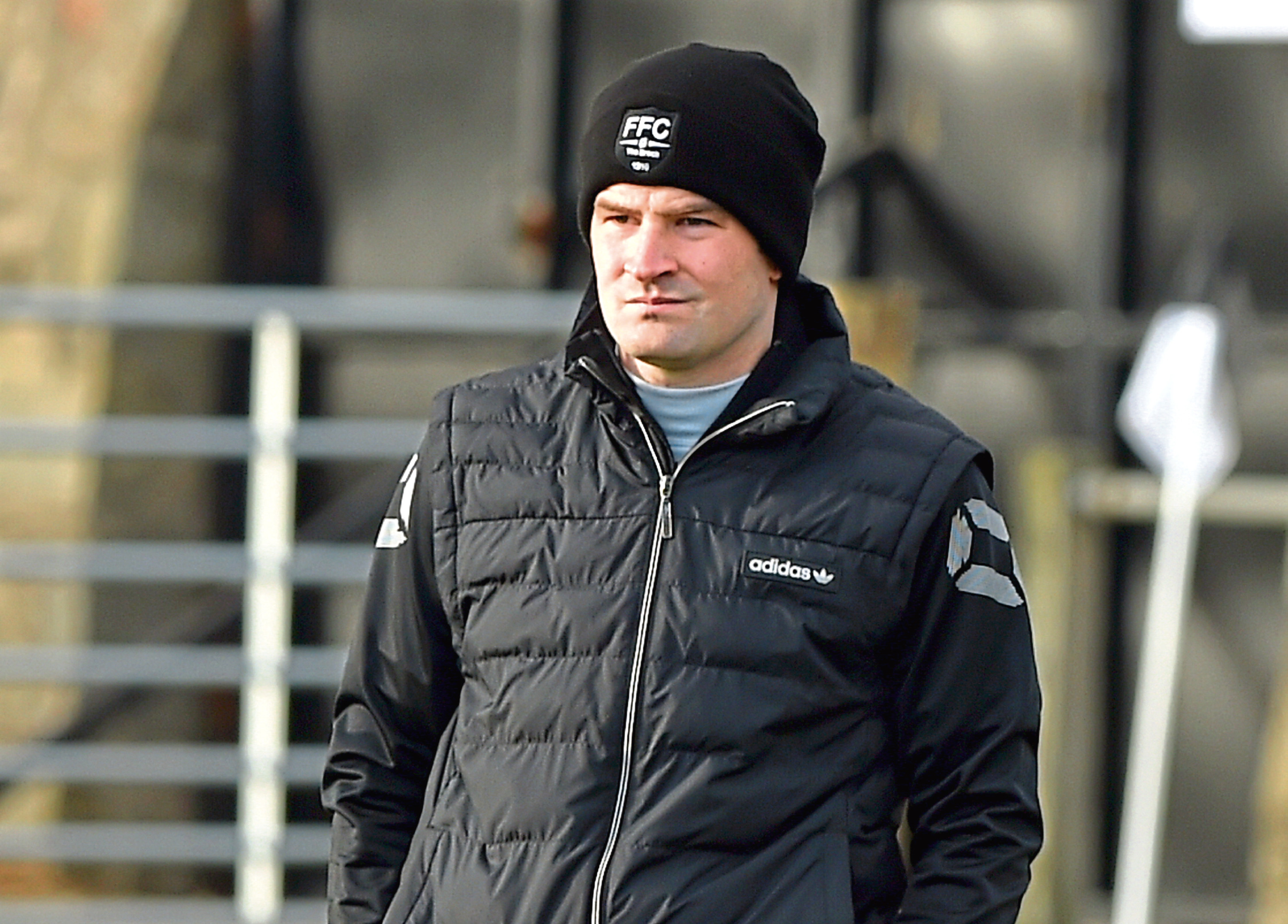 Fraserburgh manager Mark Cowie. Picture by KENNY ELRICK