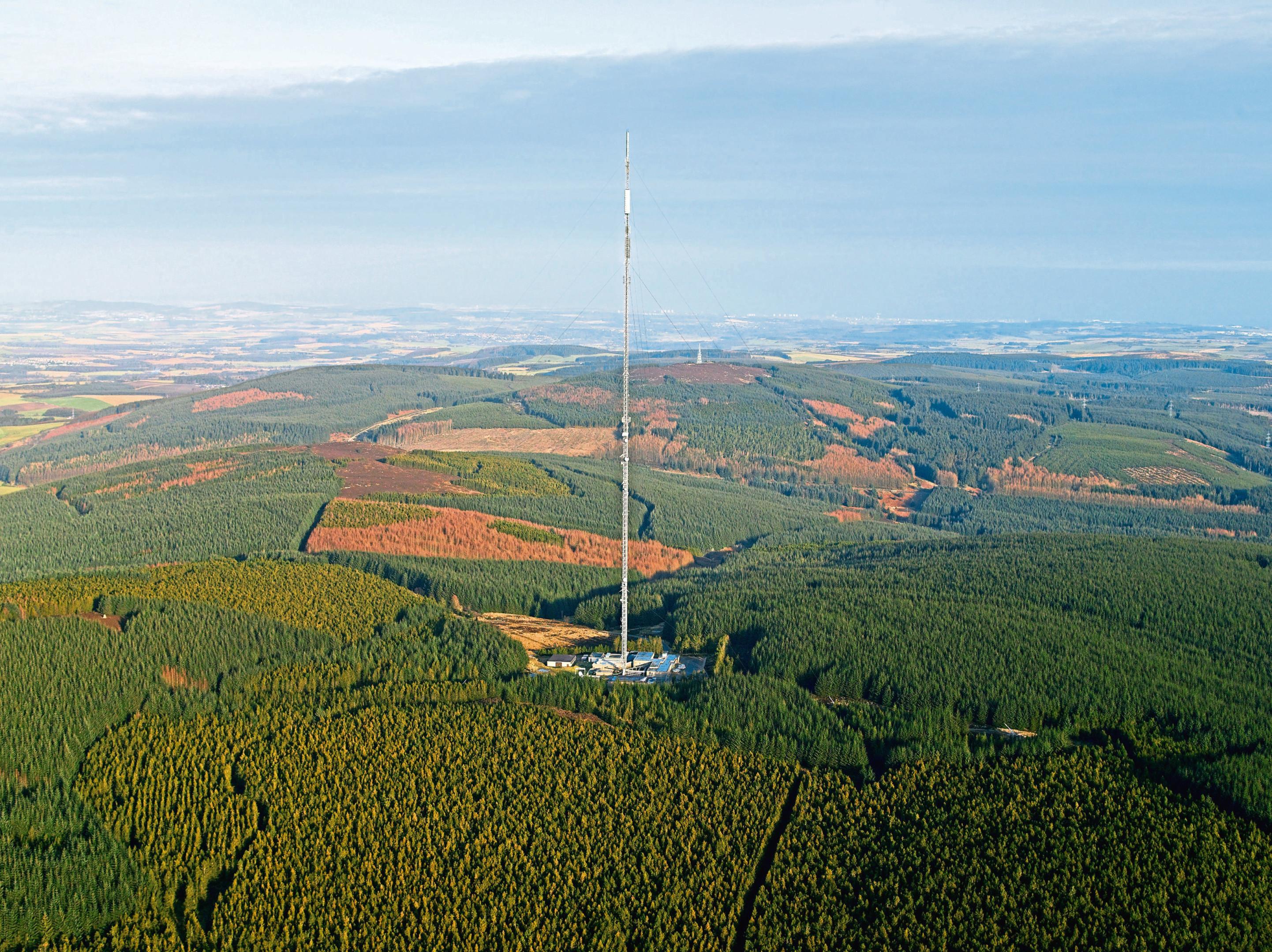 The Durris Transmitter