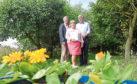 John Mason, Lorraine Turnbull and Gregor McGillivray.