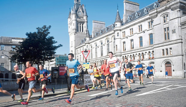 The Great Aberdeen Run is set to return to the city.
