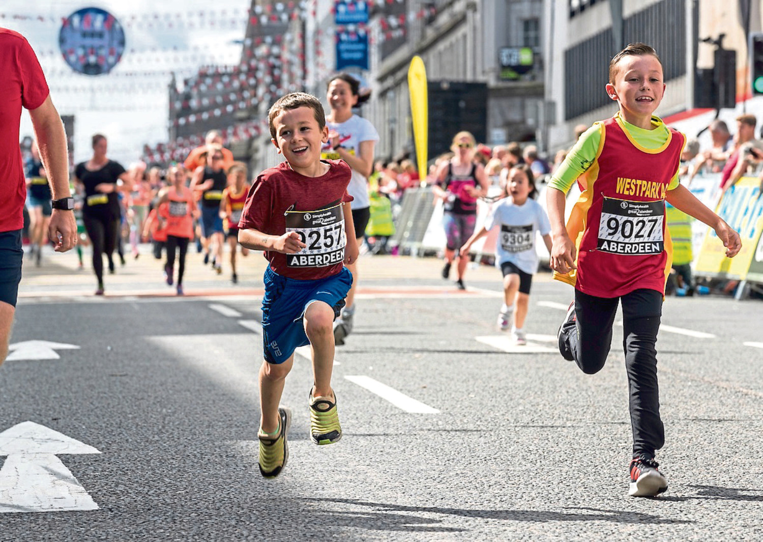 Less than 50 spots are available for the Simplyhealth run