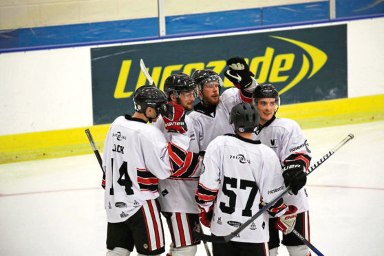 The Aberdeen Lynx are gearing up for the new season. Picture by Kenneth Malcolm Photography.