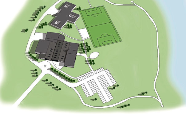 Lee's plan would see former Cordyce School transformed into a health and fitness village.
