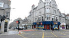 The attack happened on George Street in the early hours of Saturday morning