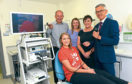 Friends of ANCHOR provided funding for endoscopy equipment for the Head and Neck Clinic at Aberdeen Royal Infirmary