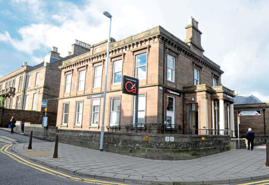 The former Clydesdale Bank in Stonehaven