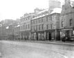 The west side of Broad Street which was demolished - date unknown