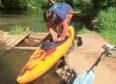 The stolen kayak