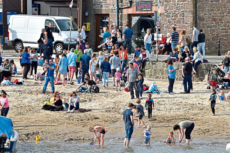 Last year's Stonehaven Harbour Festival