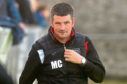 Mark Cowie, Fraserburgh manager.