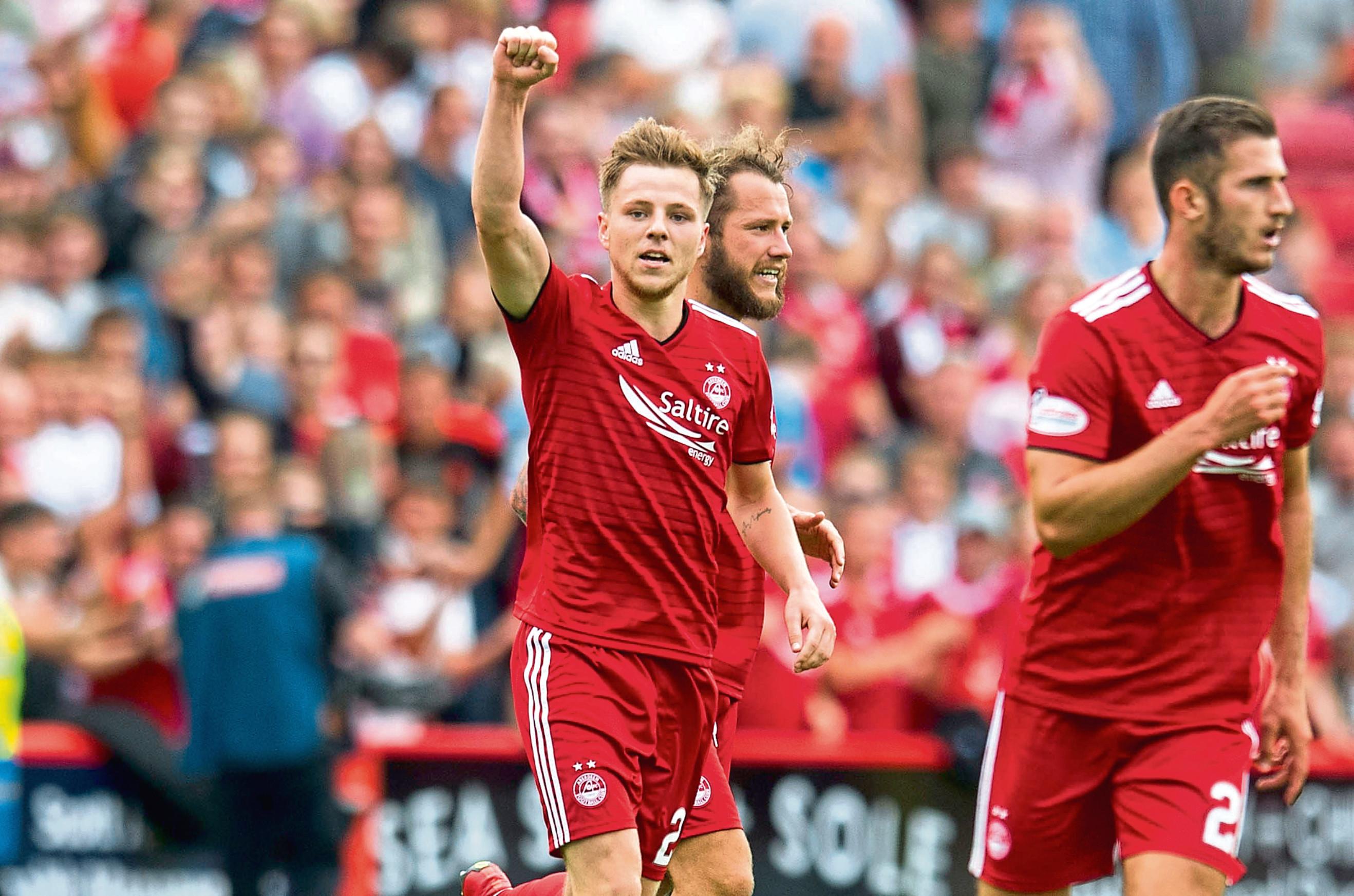 Aberdeen's Bruce Anderson.