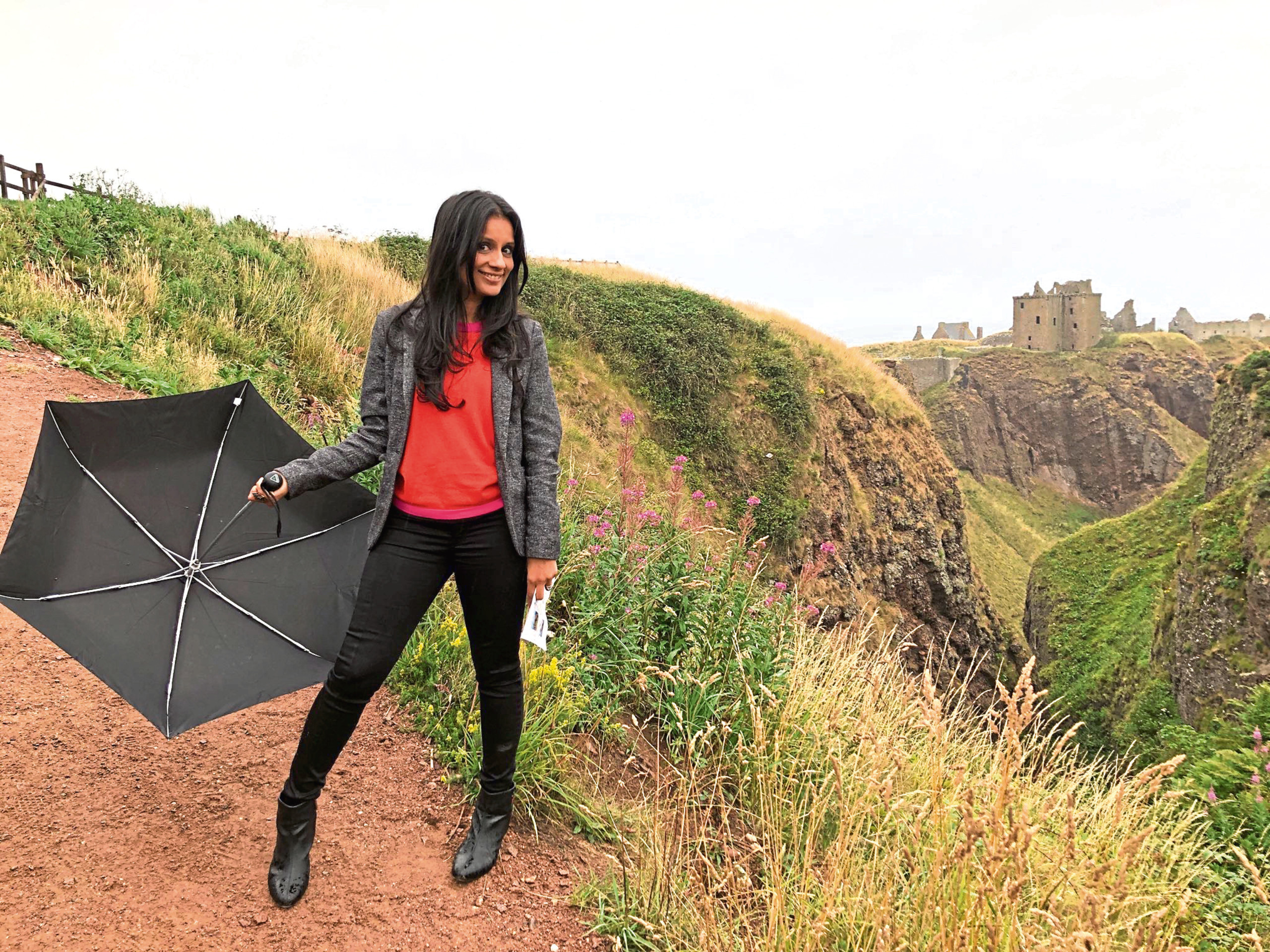 BBC's Sonali Shah visited towns in Aberdeenshire filming an episode of Escape To The Country