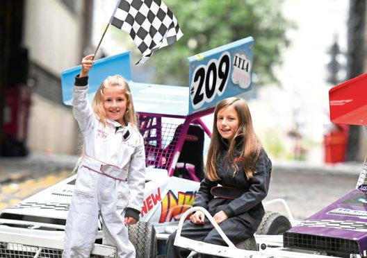 Lyla Lovett is now getting involved in stock car racing like her older sister Freya