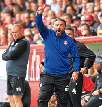 Aberdeen boss Derek McInnes hopes to add another signing before the transfer window closes.