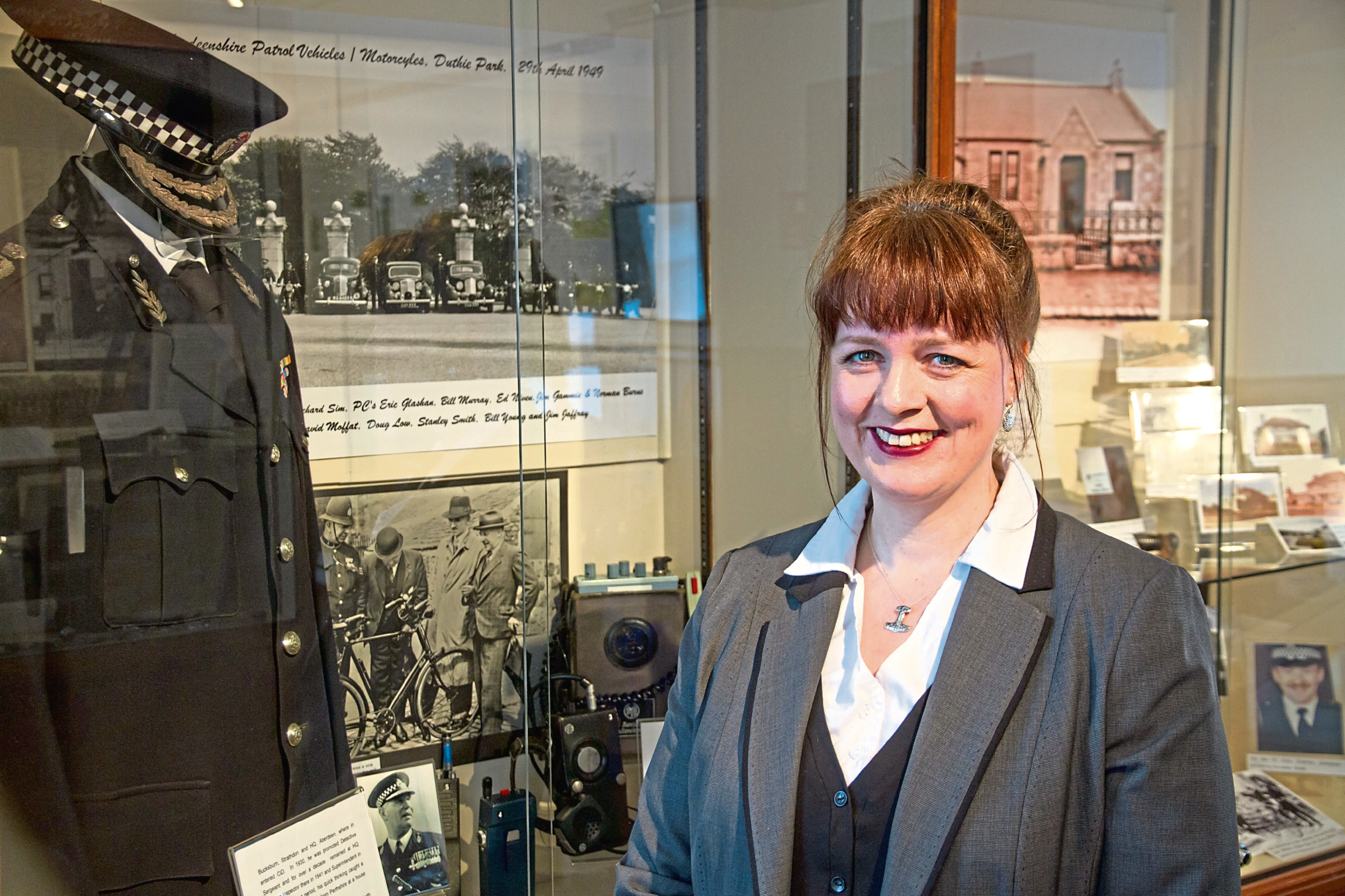 Henrike Bird, curator and chair at Insch Connection Museum