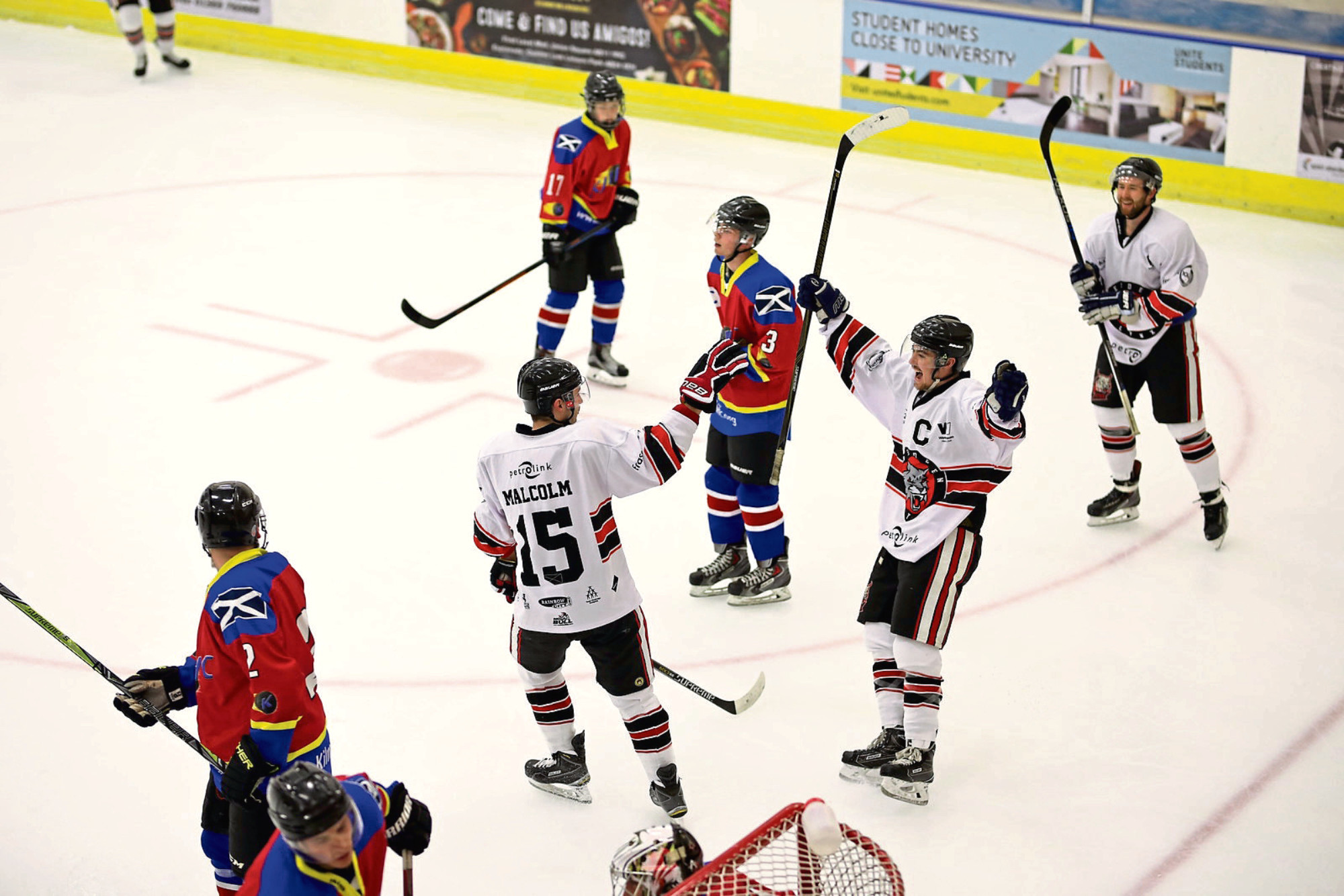 The Lynx, in white, will play Solway Sharks home and away.