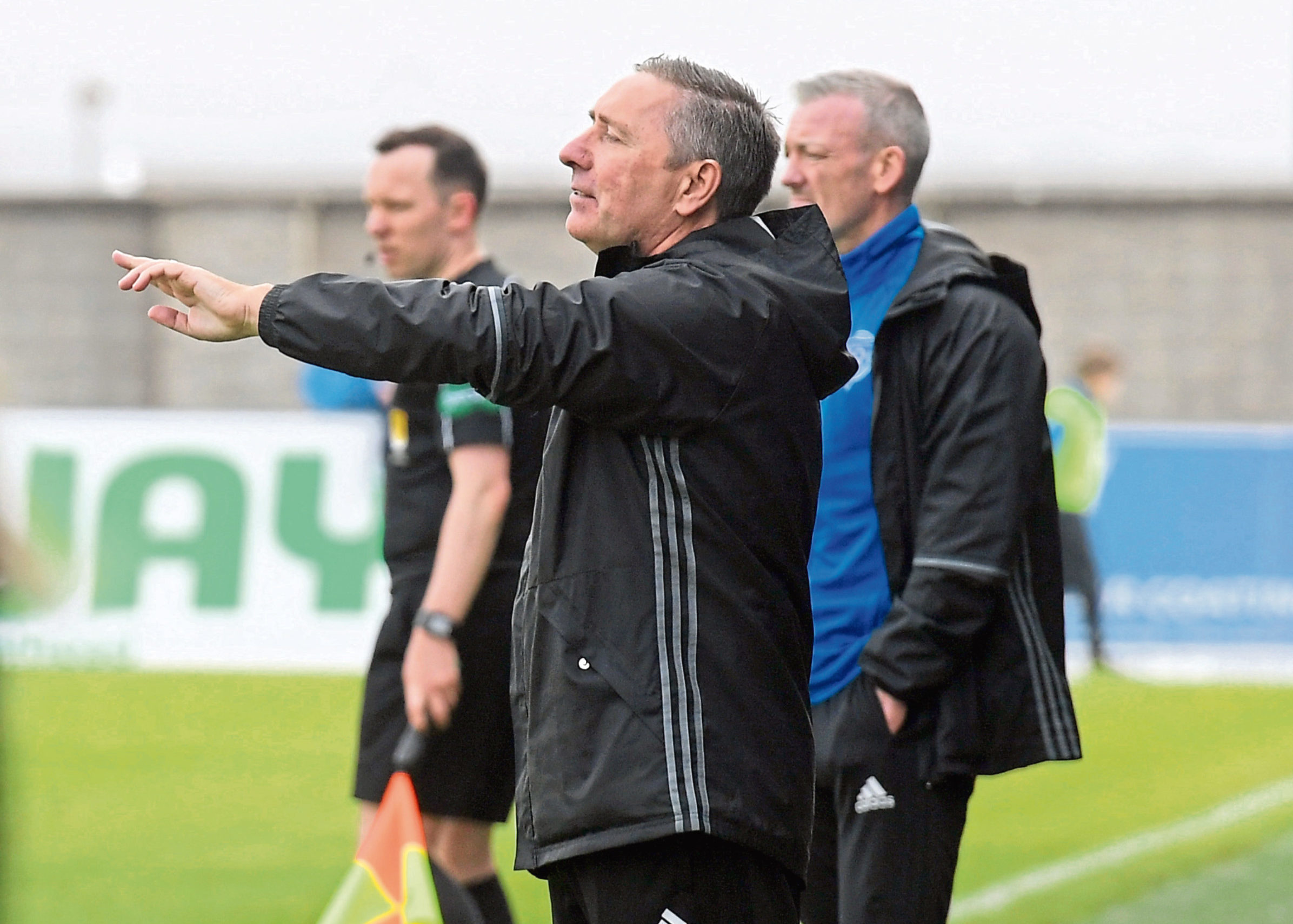 """McInally and Nicholls, behind, have been """"brilliant"""" with McCarthy"""
