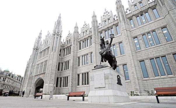 Mariscal College, Aberdeen City Council HQ
