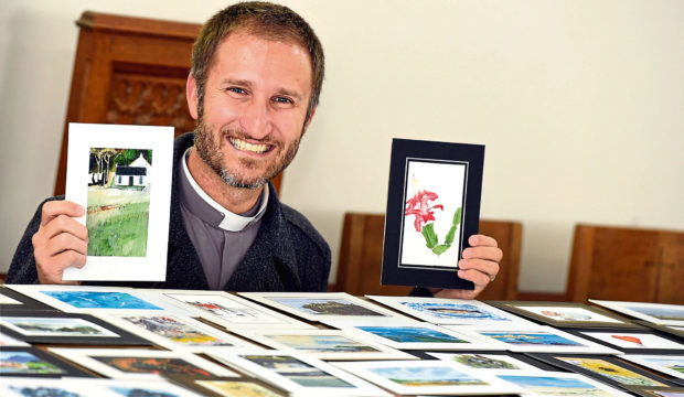 Reverend Dr Will Stalder has warned churchgoers about scammers using his name