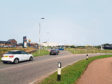 Land where a new petrol station with coffee shop is being built in Peterhead
