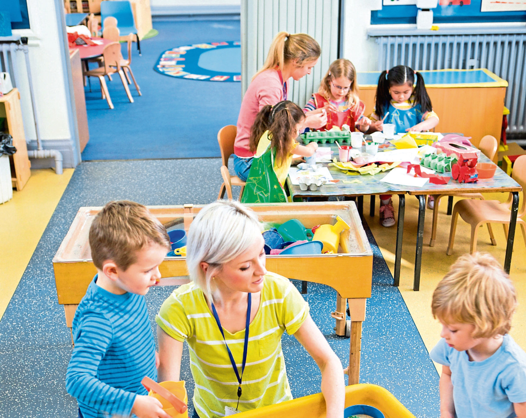 The city council is trying to meet childcare targets set by the government