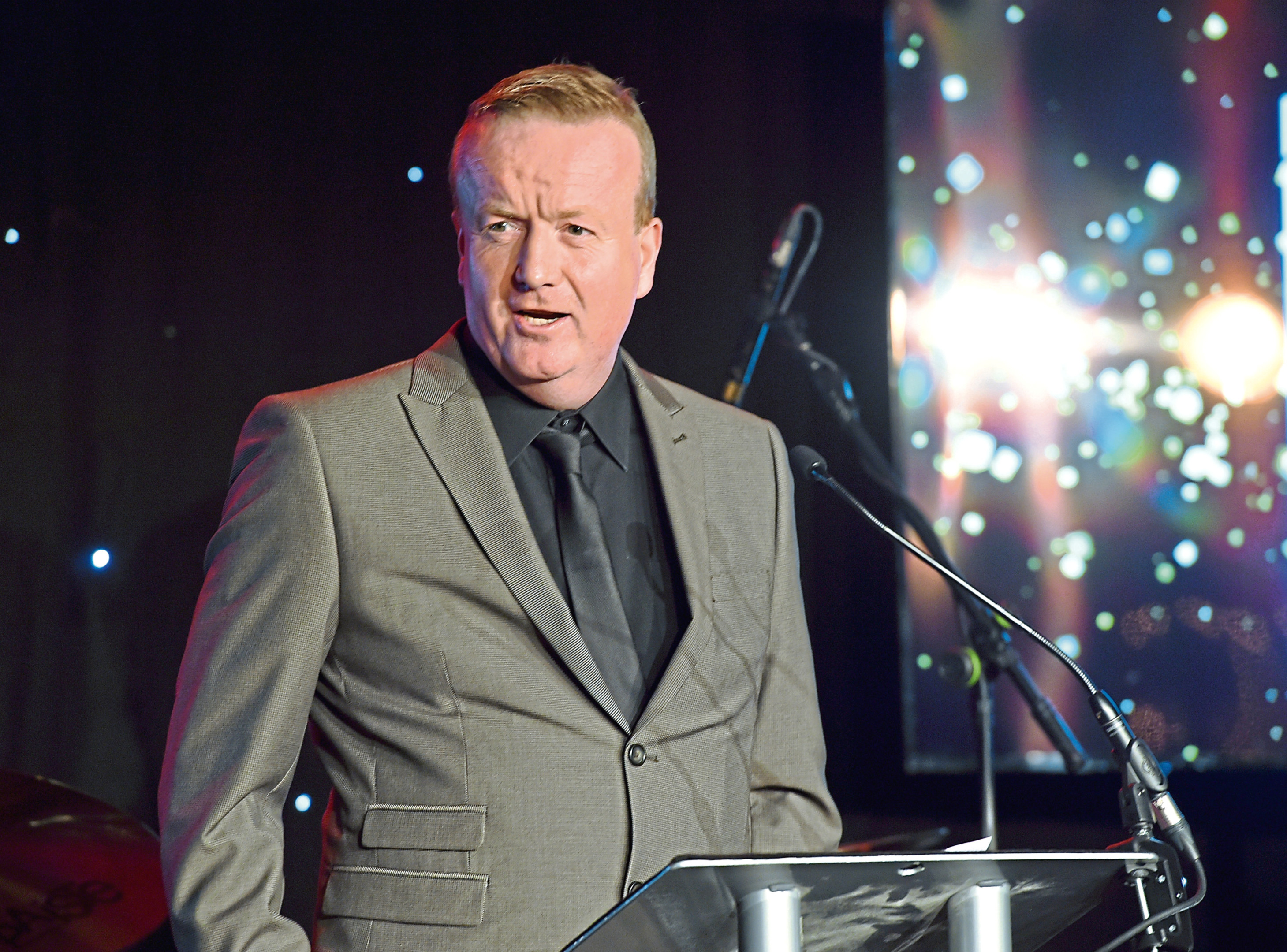 Aberdeen Inspired's Adrian Watson is on the judging panel