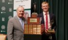 Callum Bruce with Jack Nicklaus.